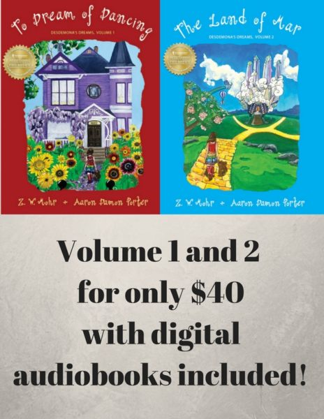 Volume 1 and 2 for only $40!
